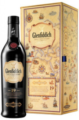 Glenfiddich 19 Year Age of Discovery Medeira Cask bottle with box