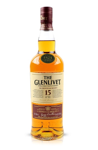 Glenlivet 15 bottle
