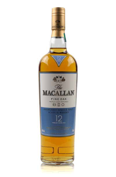 Macallan 12 Year Fine Oak w/Gift Box