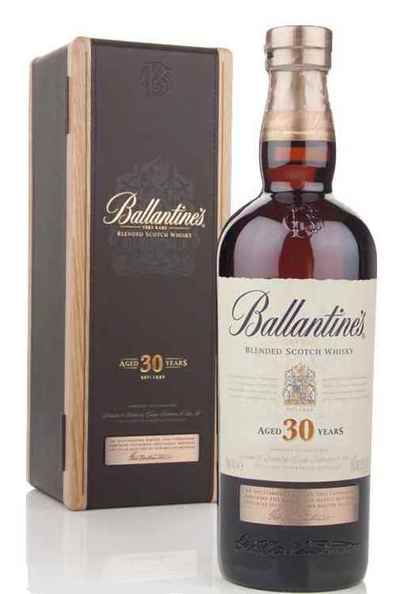 Ballantines 30 bottle with box