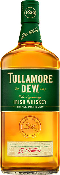 Tullamore D.E.W. Original Irish Whisky 1L Bottle