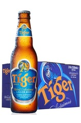 Tiger Beer bottle with 24 Case