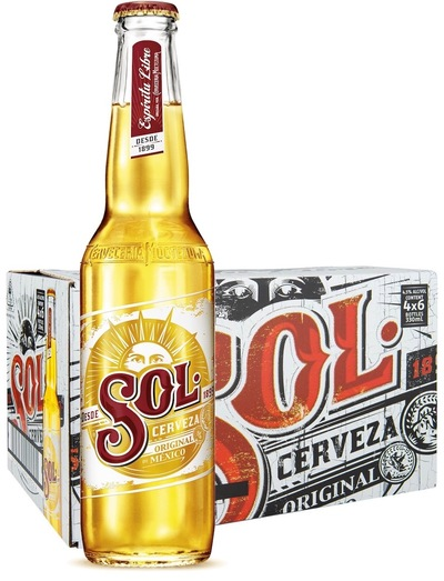 24 x Sol Beer Bottle Case