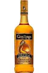 Goslings Gold Seal Rum Bottle
