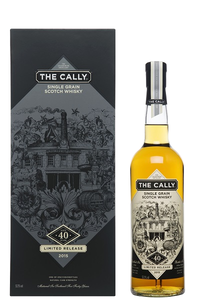 The Call 40 Year Bottle with box