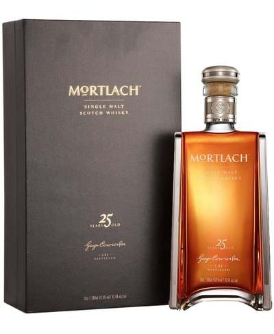 Mortlach 25 Year Bottle with box