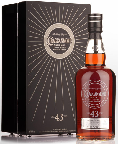 Cragganmore 43 Year w/Wooden Gift Box
