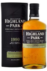 Highland Park 1990 Bottle and Box