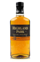 Highland park 12 year bottle 700ml