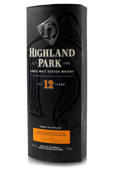 Highland park 12 year box