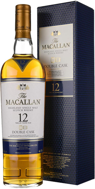Macallan 12 Year Double Cask 700ml w/Gift Box