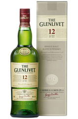 Glenlivet 12 Year 1L bottle and box