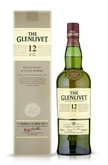 Glenlivet 12 Year 1L w/Gift Box