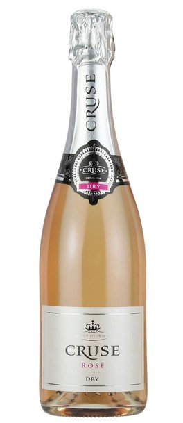 Cruse Brut Rose bottle
