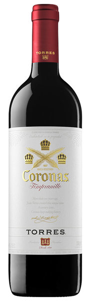 Torres Coronas Tempranillo bottle