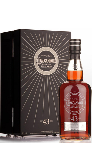 WSJ+ Cragganmore 43 Year w/Wooden Gift Box