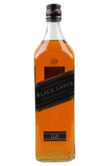 Johnnie Walker Black 1L w/Gift Box