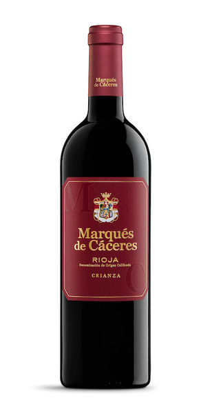 Marques de Caceres Rioja Crianza bottle