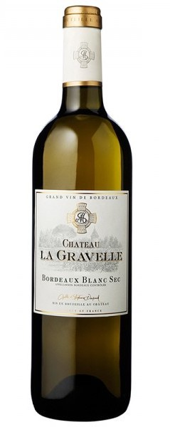 Chateau La Gravelle Bordeaux White Bottle