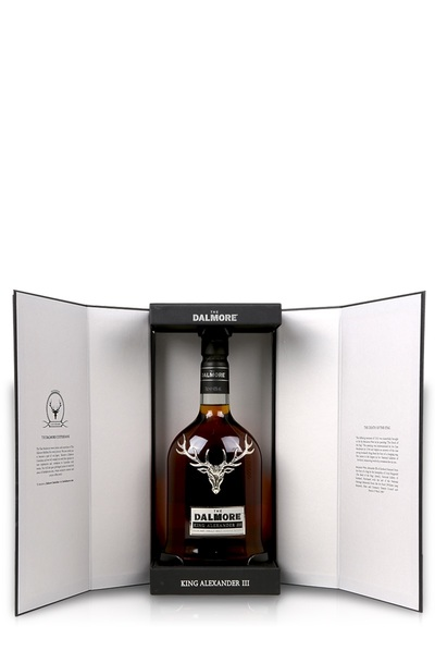 The dalmore king alexander iii bottle in box