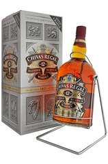 Chivas Regal 12 Year 4.5L and Cradle bottle with box