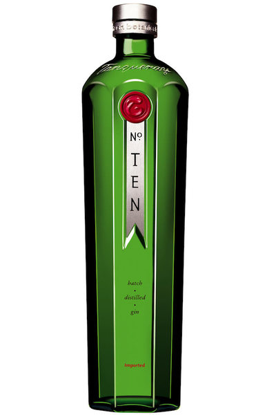 Tanqueray no ten bottle