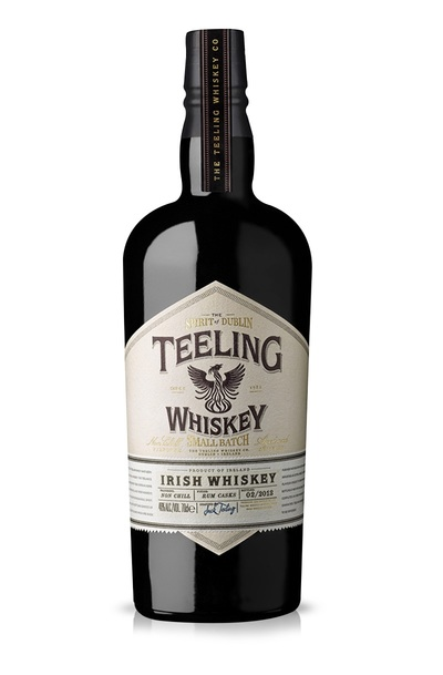 Teeling small batch bottle
