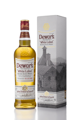 Dewar's White Label 750ml bottle with Gift Box