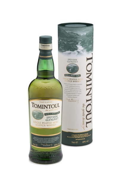 Tomintoul Peaty Tang 1L w/Gift Box