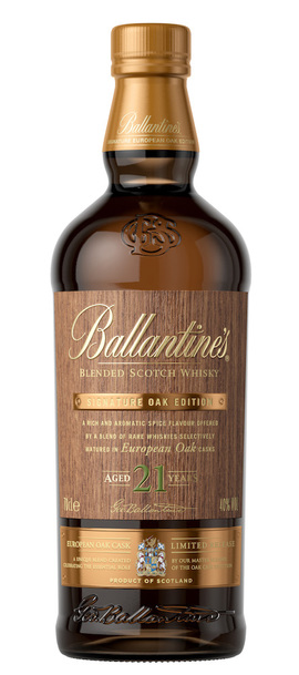 Ballantine's 21 Year Signature Oak Edition – European Oak w/Gift Box