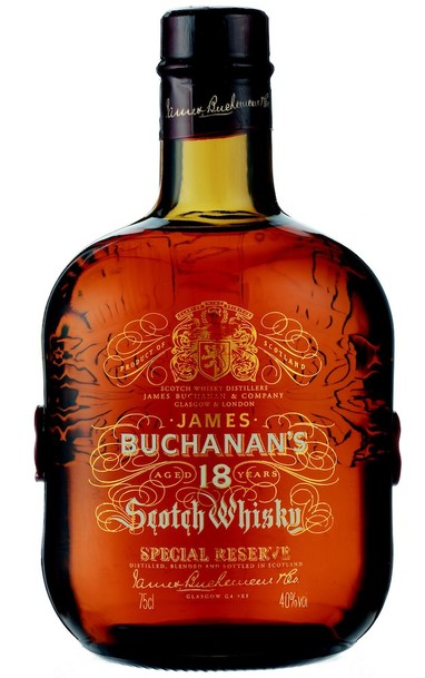 Buchanan's 18 Year Special Reserve bottle