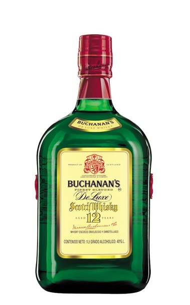 Buchanan's 12 Deluxe Bottle