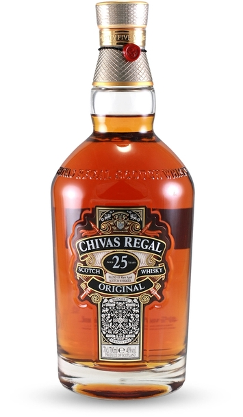 Chivas regal 25 year bottle