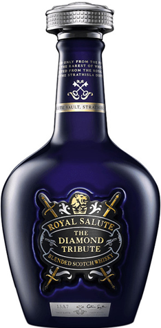 Chivas Regal Royal Salute Diamond Tribute bottle