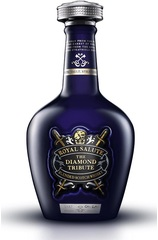 Chivas Regal Royal Salute Diamond Tribute bottle with box