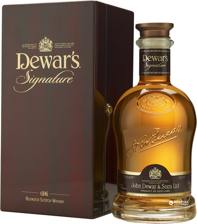 Dewar's Signature 750ml w/Gift Box