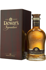 Dewar's Signature 750ml bottle and box