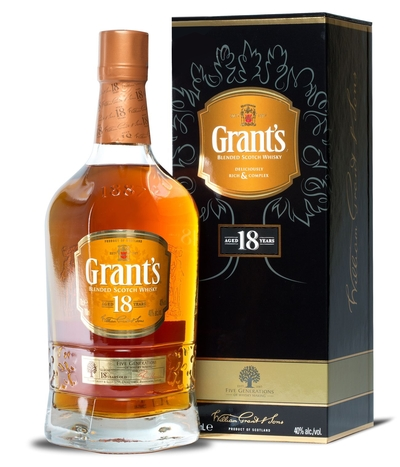Grants 18 Year 700ml w/Gift Box
