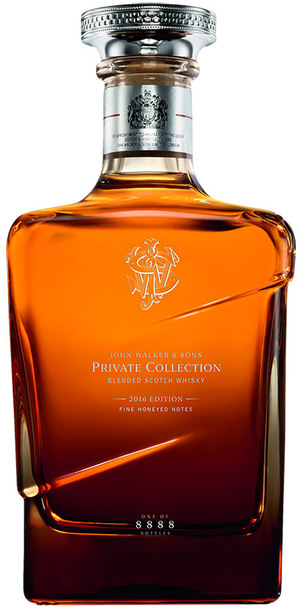 John Walker & Sons Private Collection 2016 Edition bottle