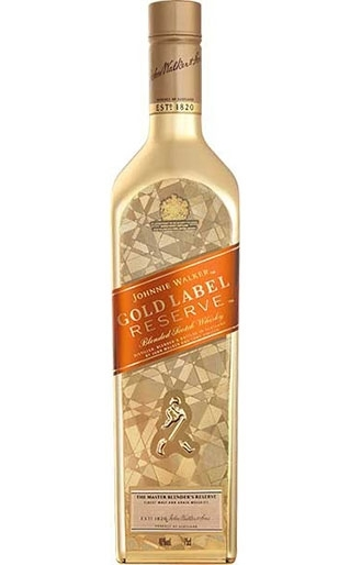 Johnnie Walker Gold Label Reserve Bullion Ice Limited Edition bottle