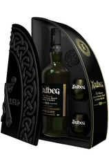 Ardbeg Quadrant 10 Year 700ml Gift Pack with 2 Glasses
