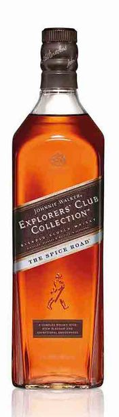 Johnnie walker explorers club the spice road bottle