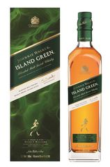 Johnnie Walker Island Green 1L bottle and box