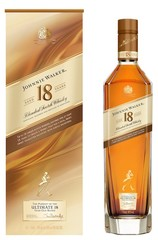 Johnnie Walker Aged 18 Years bottle and box