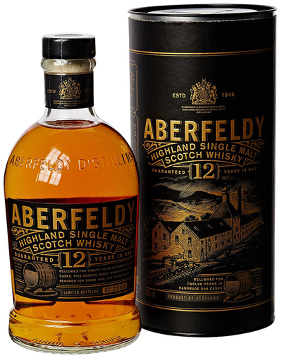 Aberfeldy 12 Year bottle and box