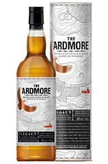 The Ardmore Legacy 700ml bottle and box