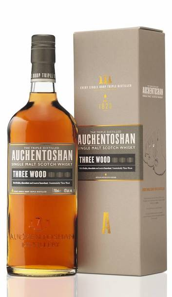 Auchentoshan Three Wood w/Gift Box