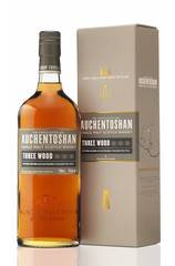 Auchentoshan Three Wood bottle and box