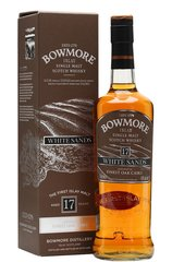 Bowmore White Sands 17 Year bottle and box