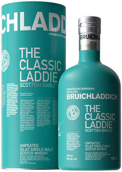 Bruichladdich The Classic Laddie bottle and box